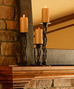 Rush Iron Renaissance Single Candle holder - Penny's Passion's