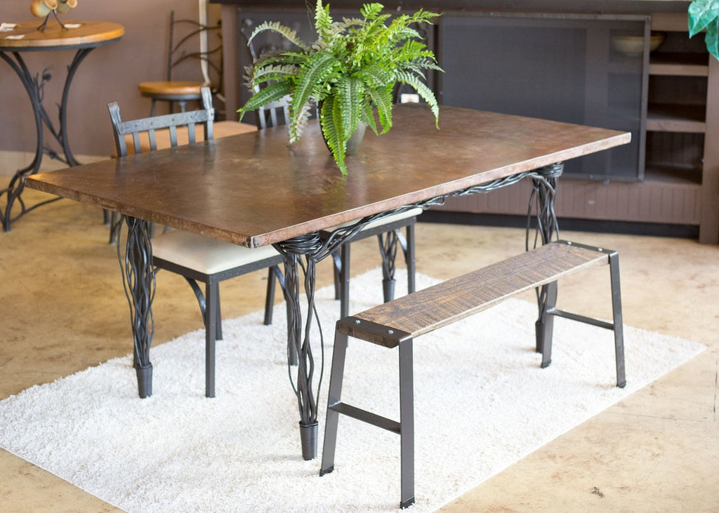Rush Farm Dining Table - Penny's Passion's