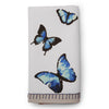Blue Butterfly Napkin - Awakened Elements
