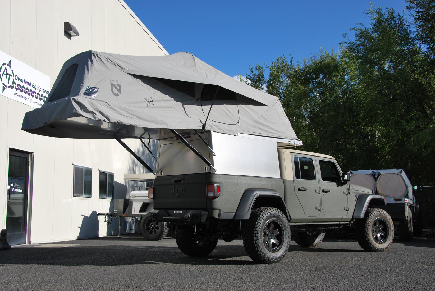 Adventure Trailers Habitat Truck Topper At Overland Equipment