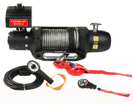 COMEUP Winch Seal GEN2 12.5rs 12V Winch (Synthetic Line)