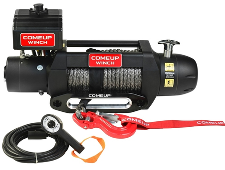 COMEUP Winch Seal GEN2 9.5s 12V Winch (Synthetic Line)