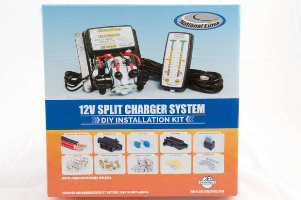 National Luna Dual Battery Kit (Split Charger System)