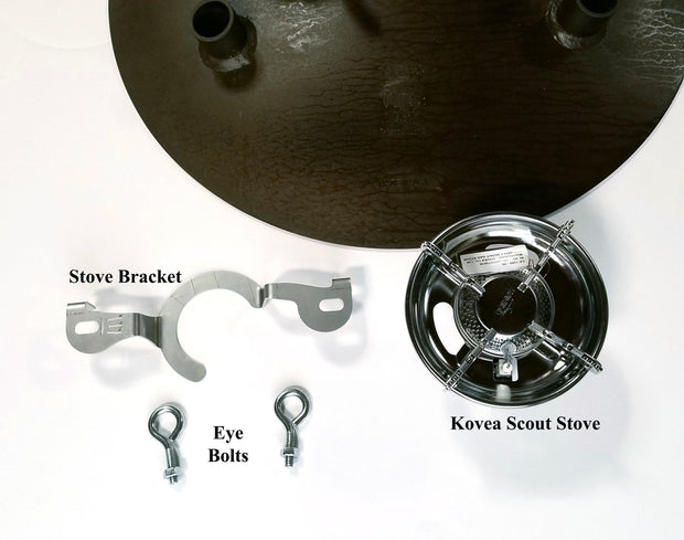 Adjustable Leg Skottle Grill Kit