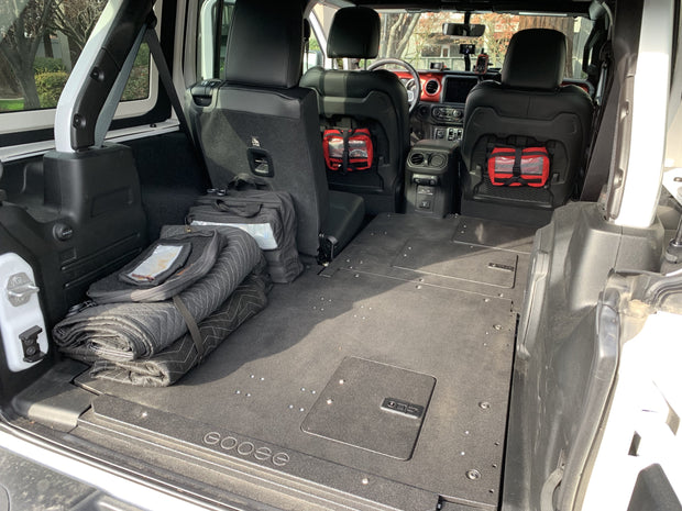 Goose Gear Jeep JLU 4 Door Sleeping Platforms (2018+)