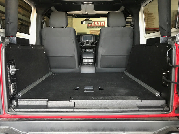 Goose Gear Jeep JK 2 Door Side Cubbies for (2007 - 2018)