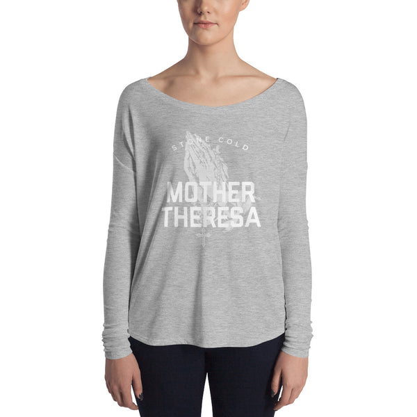 Mother Theresa Ladies' Long Sleeve Tee
