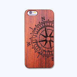 Wood Veneer Vintage Style Phone Covers for iPhone