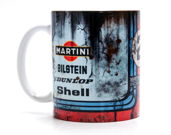 Retro Martini Porsche Racing Oil Mug