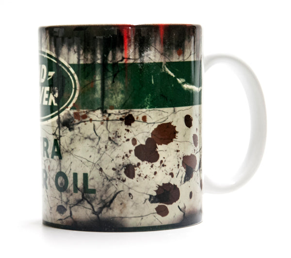 Retro Land Rover Motor Oil Mug