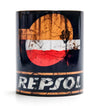 Retro Repsol Oil Mug