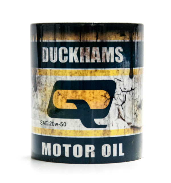 Retro Duckhams Oil Mug