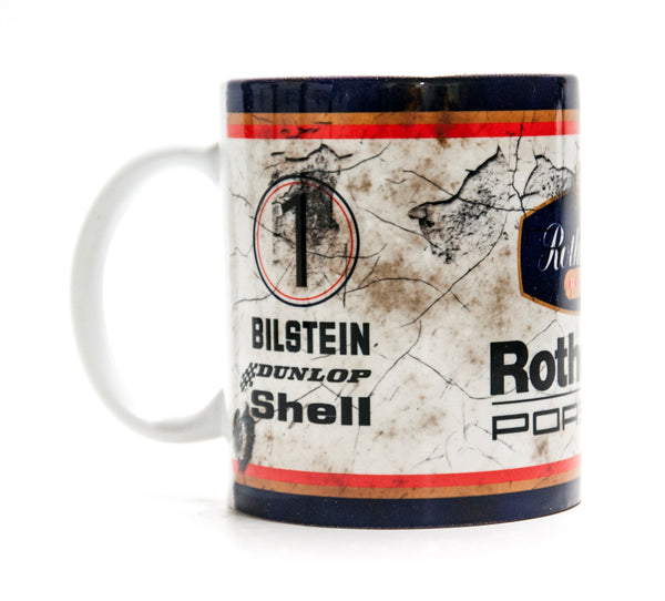 Retro Rothmans Porsche Racing Mug