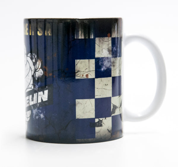 Retro Michelin Tyres Oil Mug