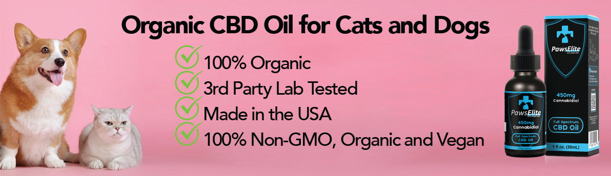 Paws Elite offers the Best CBD Oil for Dogs and Cats. Paws Elite's offers Organic CBD Oil for Pets.