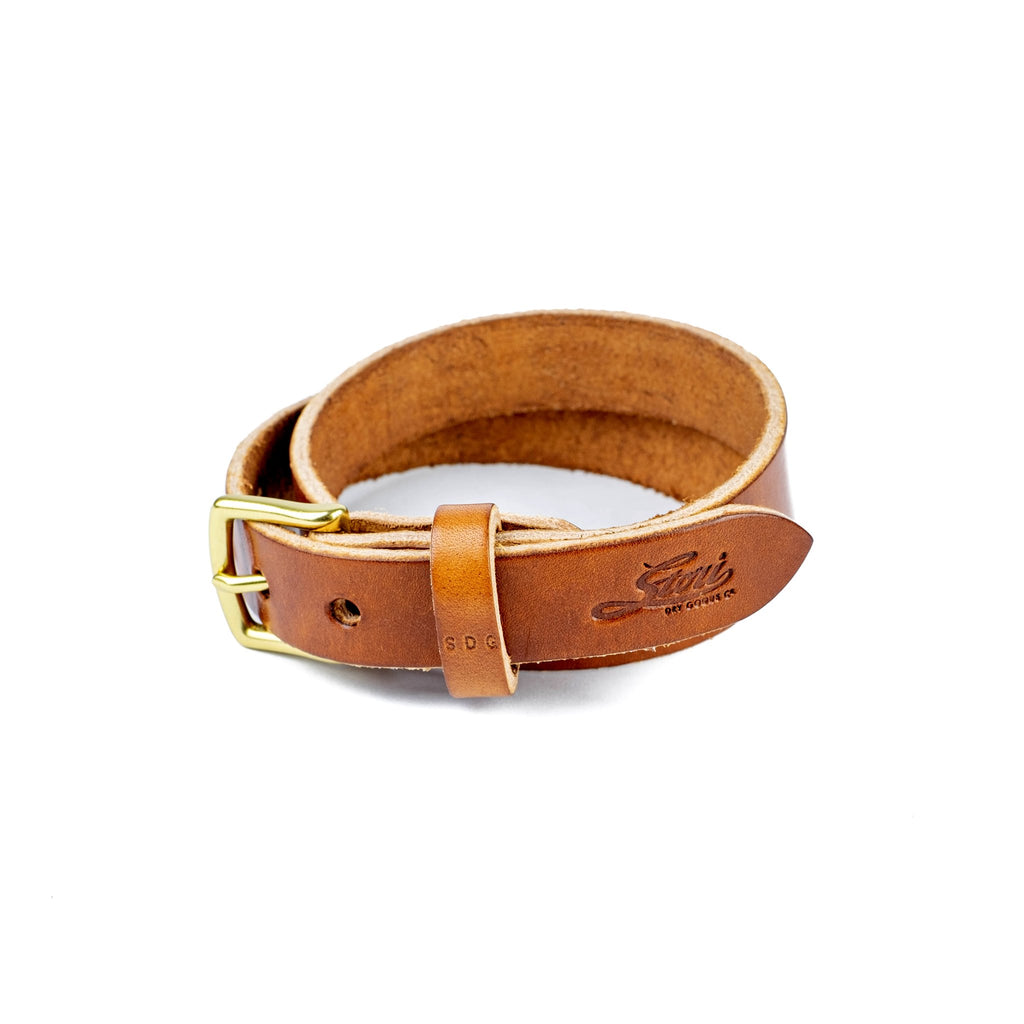 Camden Belt Thin - Brown