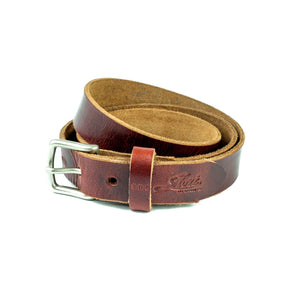 Camden Belt Thin - Brick