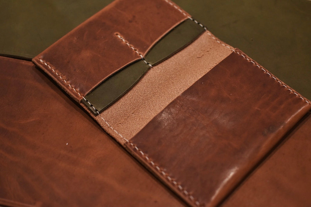 Passport Wallet - Brown