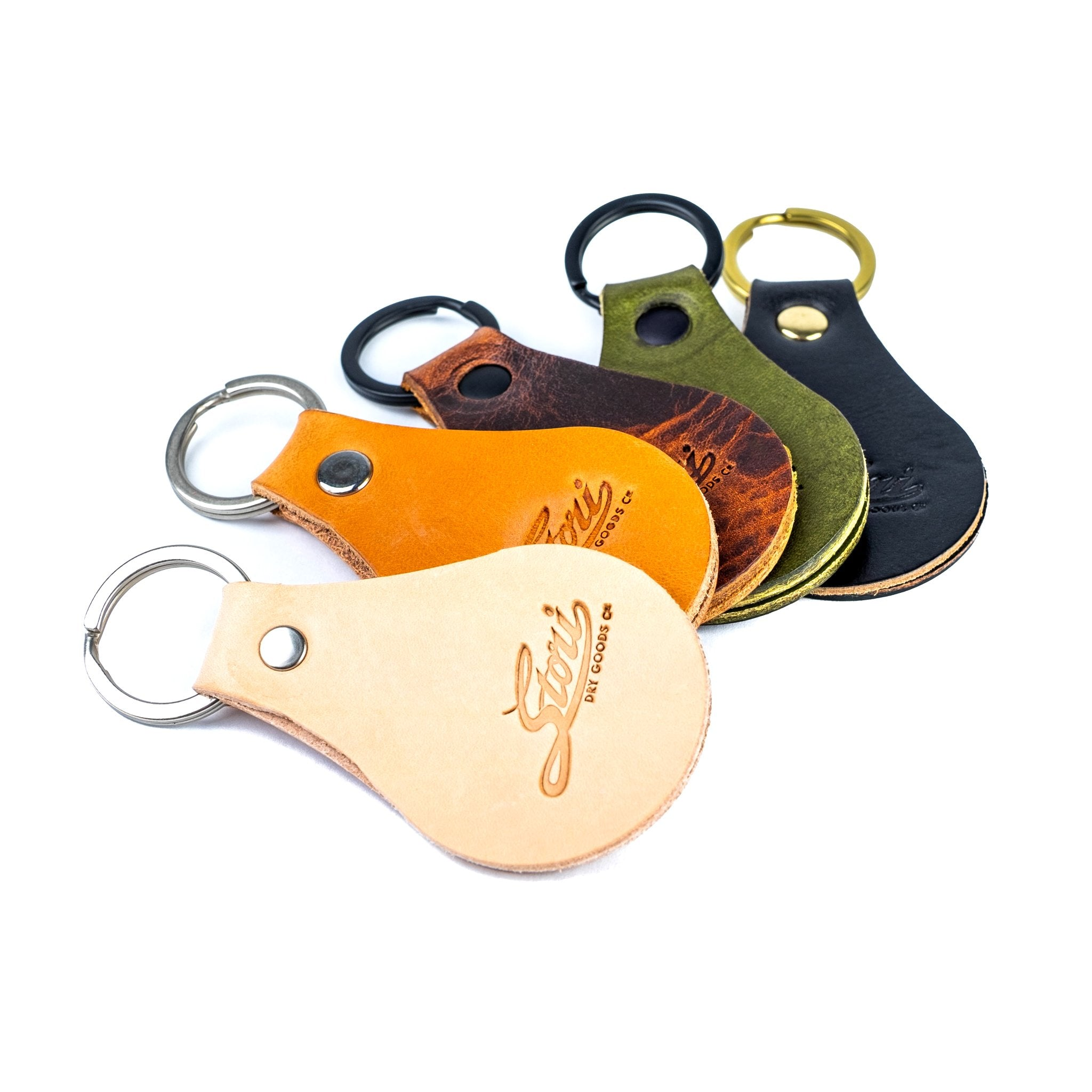 Mission Keychain - Brown