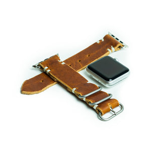 Mission Watch Band (Classic Watch) - English Tan Dublin