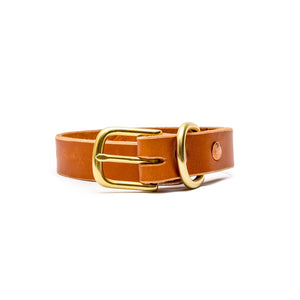 Beltline Collar - English Tan