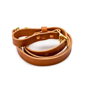 Beltline Leash - English Tan