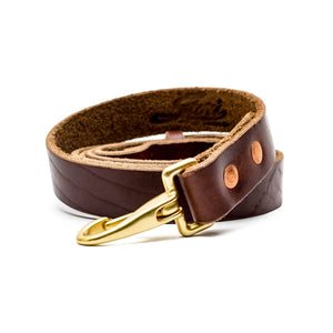 Beltline Leash - Brown