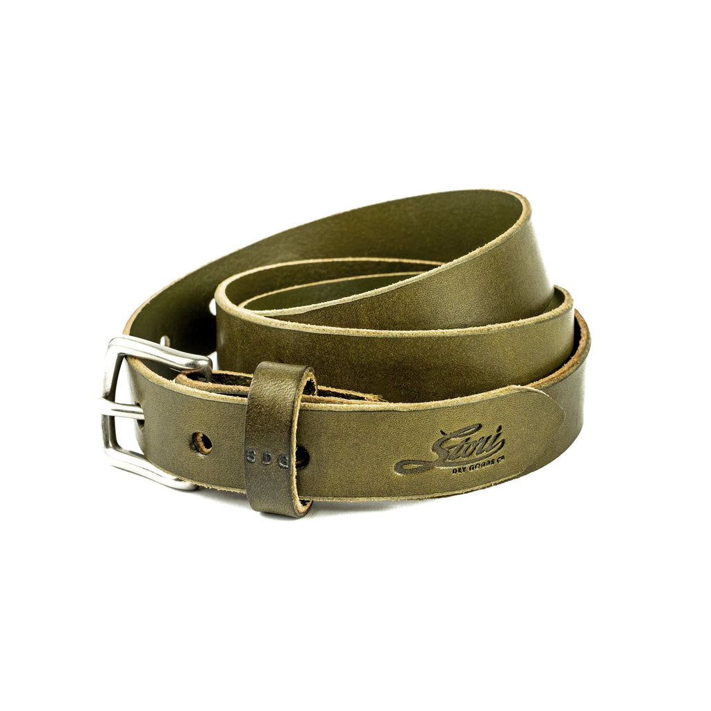 Camden Belt Thin - Olive