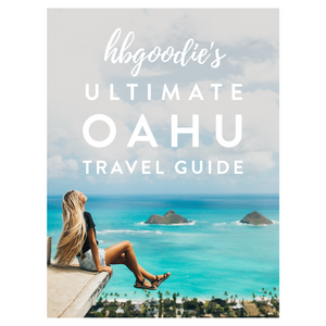 THE ULTIMATE OAHU TRAVEL GUIDE