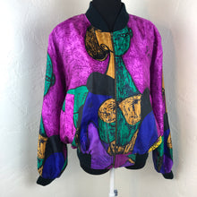 Sick Vintage 90's Picasso Bomber Jacket SZ Medium