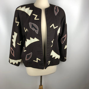 Exquisite Vintage Southwestern 80's Jacket SZ Small