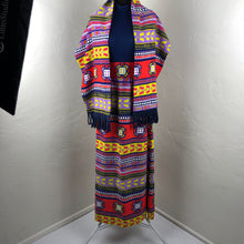Stunning Vintage 70's Southwestern Maxi Dress SZ Medium