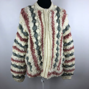 Incredible Vintage 70's Shag Sweater SZ M/L