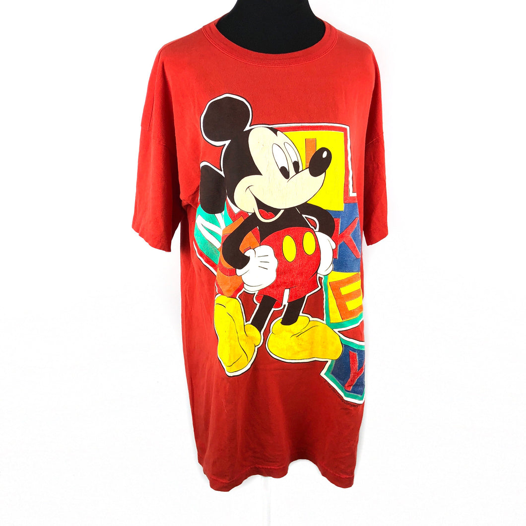 Authentic Vintage Mickey Mouse T-Shirt one Size XL