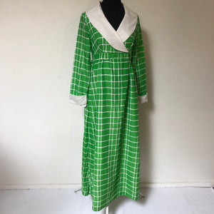 Incredible vintage mod 70's maxi dress SZ Medium