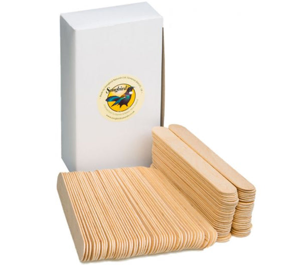 Songbird Wooden Spatulas (100 pack)