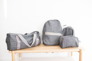 Grey Chambray - The Sleepover Set