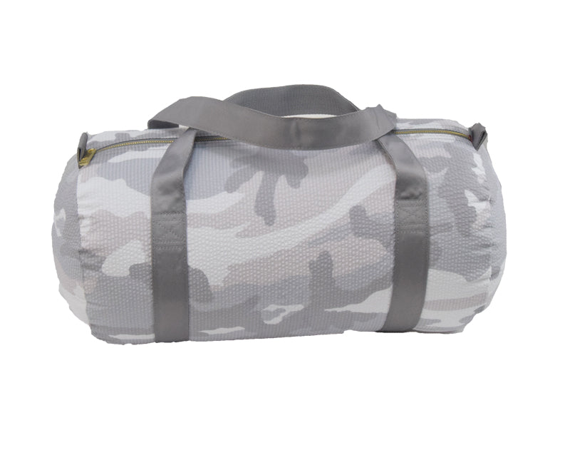 Snow Camo Medium Duffel Bag