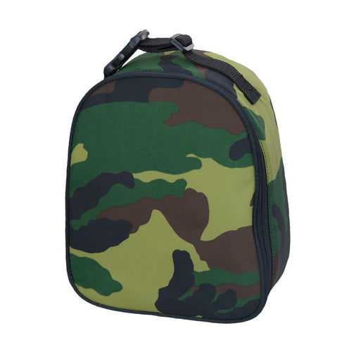 Camo Nylon Gumdrop Lunch Box