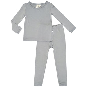 Kyte Toddler Pajama Set in Chrome