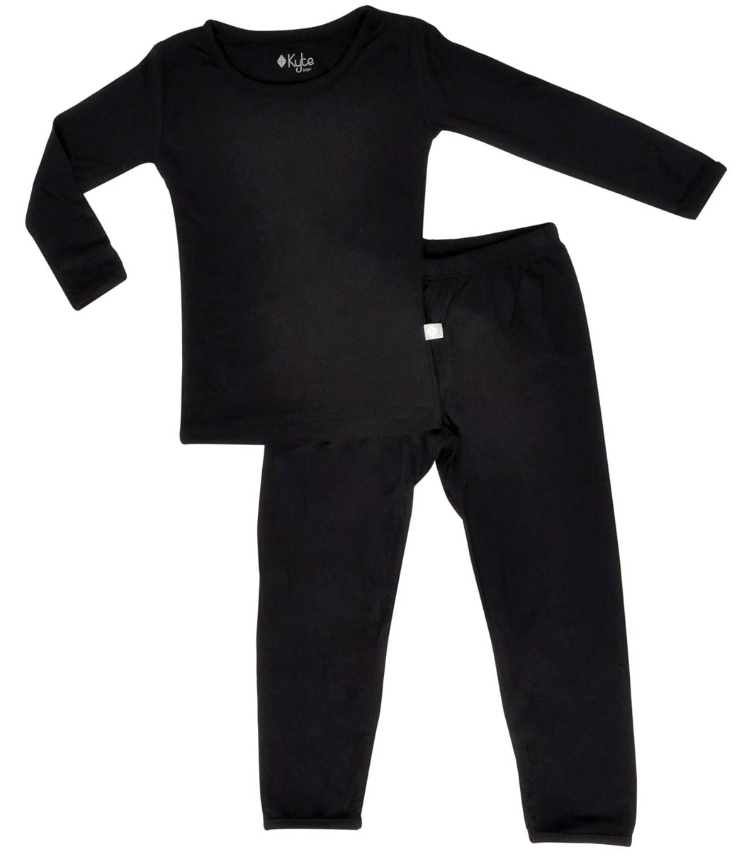 Kyte Toddler Pajama Set in Midnight