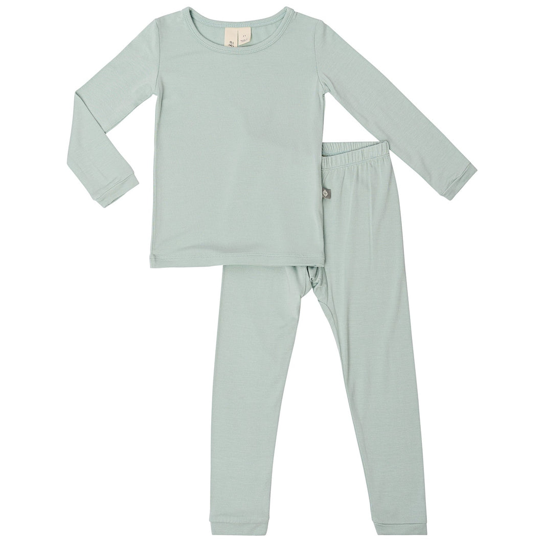 Kyte Toddler Pajama Set in Sage