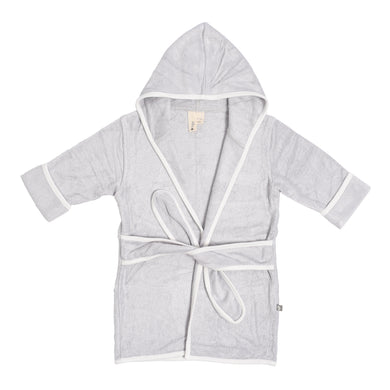 Personalized Kyte Baby Kids' Bamboo Terry Bathrobe - Storm with Cloud