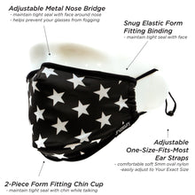 Fydelity Face Mask -  Black Star
