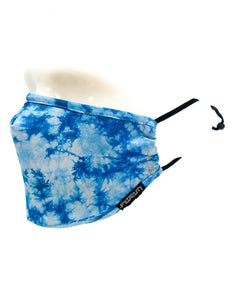 Fydelity Face Mask - Blue Tie Dye
