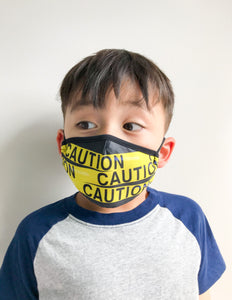 Fydelity Face Mask  - Kids - Caution - Age 2-6