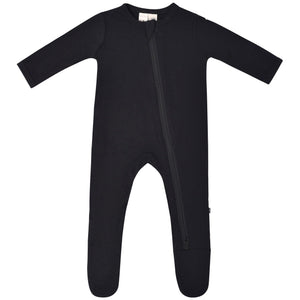 Kyte Zippered Footie in Midnight