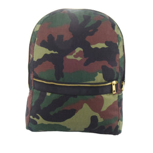 Woodland Camo Medium Backpack