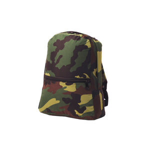 Camo Nylon Toddler Backpack