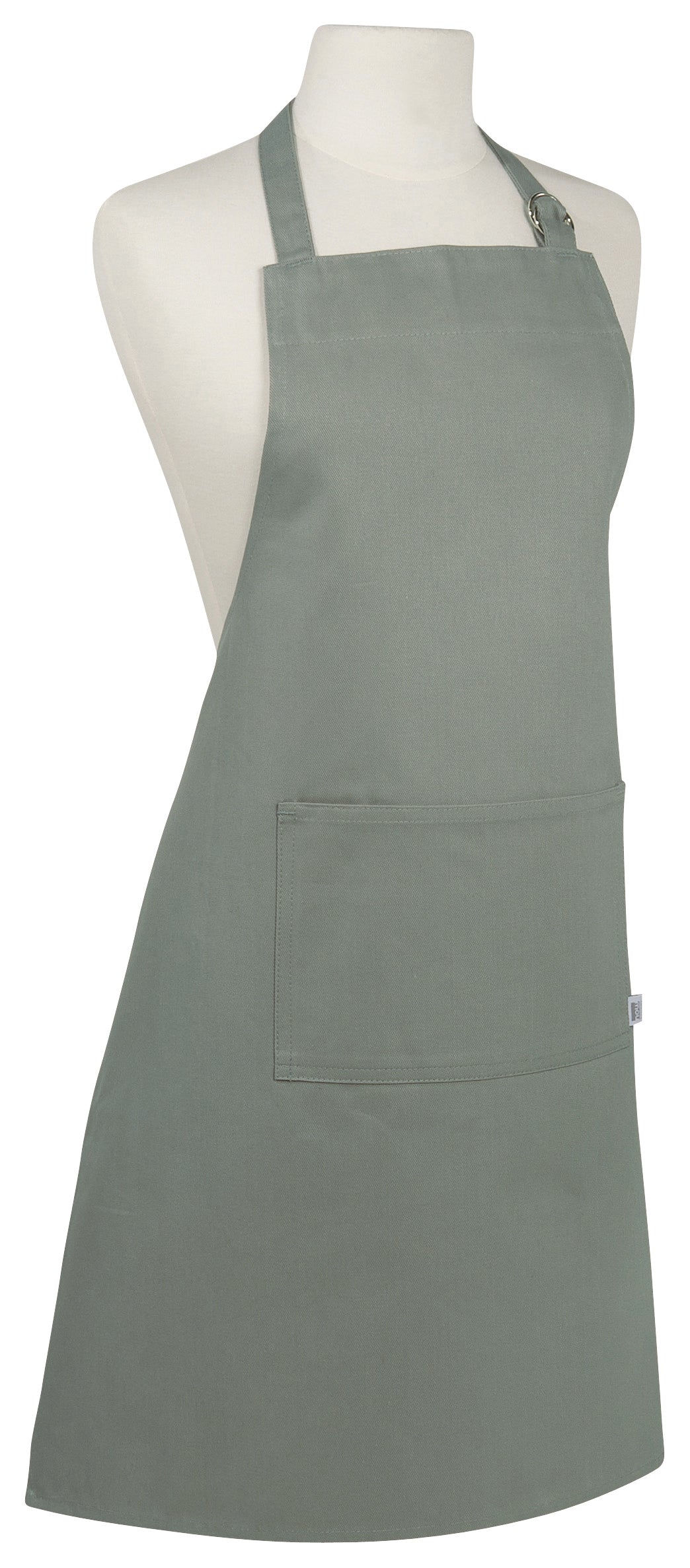 Monogrammed London Grey Chef Apron